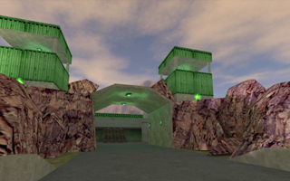 An unfinished capture the flag map for 'Excessive'.
