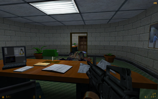 Black Mesa's office complex.